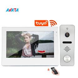 2020 年アパート TCP/IP ドアのための新しいスマートなビデオインターカムシステム Bell Electric WiFi Video Doorbell Camera オーディオインターコムビデオドア 電話