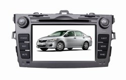 ISUN HD 2DIN 7inch Car DVD GPS for Toyota Corolla with Rear View, Bt and iPod Supported