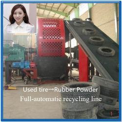 Полуавтоматическая отходов переработки шин машины с маркировкой CE сертификации