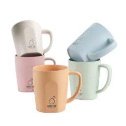 Venda por grosso barato o logotipo personalizado Impressão por Sublimação Térmica Blank 11oz plástico copos de melamina canecas