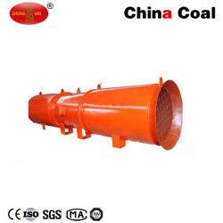 Faible bruit de ventilation du tunnel d'exploitation minière souterraine locale ventilateur Axial Flow