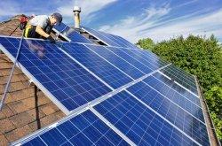 Grille solaire lié sur le toit, la masse du système de fixation du système solaire