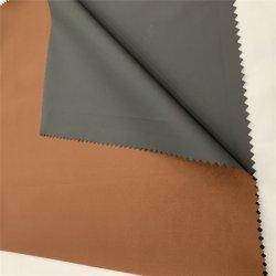 À prova de água e poliuretano leitoso tecido revestido 210t anilha ondulada de nylon da mola de tecido de malha fina