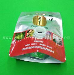 Custom 1000 мл герметик пакет с клапаном для лотка ликер водка упаковки