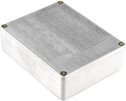 مخصص OEM ورقة خارجية بروز من الألومنيوم المعدني CNC مخصص machining غلاف من الألومنيوم المؤين للإلكترونيات الصغيرة