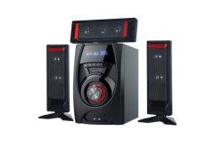 3.1 نظام المسرح المنزلي مضخم صوت صندوق صوت كاريوكي DJ MP3 المسرح المنزلي مع مكبر صوت USB بتقنية Bluetooth