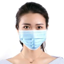 Beschikbare Beschermende de drie-Laag van het Masker Stofdichte en In te ademen Dunne Film met Doek Meltblown voor Volwassenen, Kinderen, Jongens en Meisjes