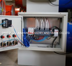 تم تشغيل مروحة التسخين الكهربائي من الصهريرات ذات الألواح الفولاذية الصناعية