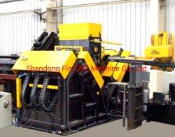خط ناقل الحركة CNC الأسطوانة الفولاذية عالية السرعة الزاوية علامات المقص الماكينة 140 مم*140 مم*10 مم-250 مم*250 مم*32 مم