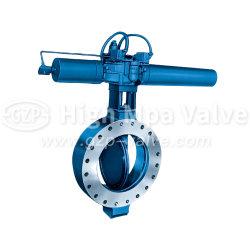 Высокое качество чугунные пневматического вафельной двухстворчатый клапан