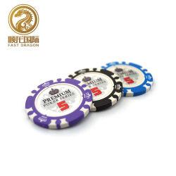 11,5g coroa de ABS Pattern Chips Poker Casino Jogos de mesa (DRA-GB1040)