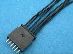 전자식 파워 와이어 하니스 케이블 어셈블리 AMP MODu II 280360-0 소켓 크림프 UL1571 26AWG 와이어 노노무현 규격