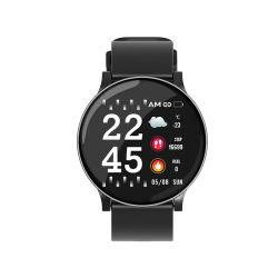 شاشات عرض من نوع Gift Watches LCD بتقنية Bluetooth® 4.0 قلب ضغط الدم معدل الرجال النساء ساعة يد ذكية