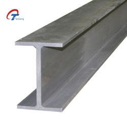 JIS قياسي G3106 درجة Ss400 410 H Beam Hot هيكل ملفوفة من الفولاذ H ذو شعاع عالي من الفولاذ