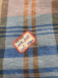 Zmyd 10068 L21*L21 tecido de linho puro linho Padrão Verificado vários produtos têxteis
