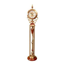 أوروبا Retro Light Luxury رأسيا ساعة الجد