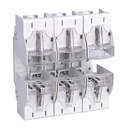 Lame électrique basse tension HRC Types de liaison fusible Nh NH00 NH1 NH2 NH3 NH4 Base de fusibles et le support 160A 250A 400A 630A