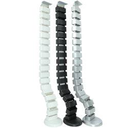 ABS ajustable flexible la columna vertebral de la Oficina Inteligente Cable Manager