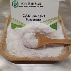 De Douane van de Pas Europe/Us/Ca van de Veiligheid van 100%, de Leverancier CAS 94-09-7 van China van het Poeder Benzocaine