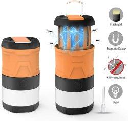 LED de exterior Camp Lâmpada, Telescópica magnética IPX4 Lanterna impermeável, 3-em-1 tenda a luz com 2000mAh recarregável para Camping Piscina Caminhadas Emergency