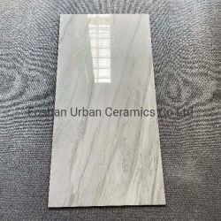 Фошань6012002 Ursg Популярные дизайн 600*1200 мм остеклованные K-Line Золотой серебристый с остеклением полированный пол из фарфора для всего тела плитки на стене