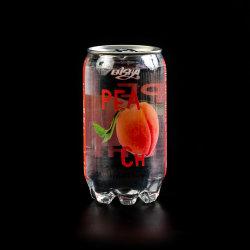 OEM Soda pétillant Peach saveur de l'eau sucre faible