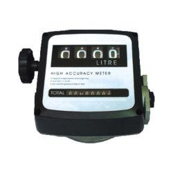 4 Chiffres gaz Diesel Fuel Flow Compteur compteur