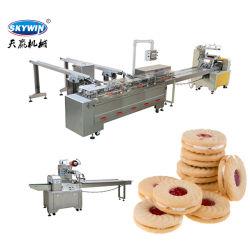 비스킷 샌드위치닝 머신 샌드위치 비스킷 포장 기계
