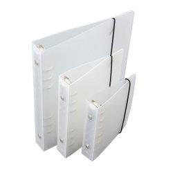 Logo personnalisé Cute papeterie reliure à anneaux A5 couvercle transparent en PVC de Journal de gros ordinateur portable