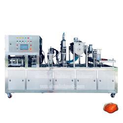 Sauce Cup Füllen Versiegelungsmaschine Voll Automatische Essbare Tomaten Chili Verpackungsmaschine Für Sauce/Paste