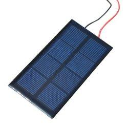 W 0-3 mois 5V 6V Mini panneau solaire de l'époxy modules solaires pour la petite lumière LED Système Solaire