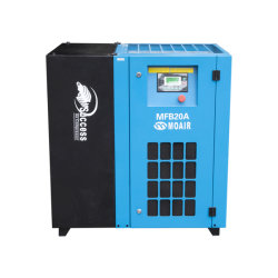 Moair CE 레벨 보호 설계 내구성 있는 급유식 벨트 구동 저렴한 가격의 스크류 공기 압축기