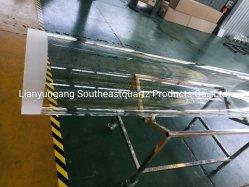 Four de verre de quartz de haute pureté Tube avec OD 532mm