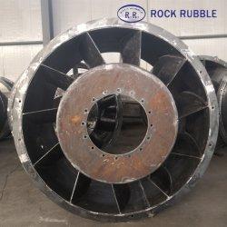 Большой металлической заводской / Центробежный вентилятор корпуса крыльчатки стали сварки на заводе