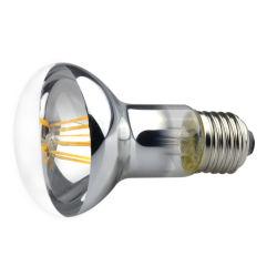 Mbella Mushroom Retro Reflector Silver Plated Housing LED 필라멘트 스팟 전구 라이트