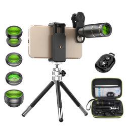 光学携帯電話用カメラレンズ、 16 倍のテレフォト レンズの無線カメラレンズの望遠鏡