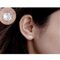 2020 Ring 925 van het Oor van de Meisjes van de Juwelen van de Partij van het Huwelijk van de manier de Echte Zilveren Oorringen van de Nagel van het Zirkoon van CZ voor Vrouwen