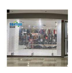 Дешевые алюминиевая рама двери сэндвич ПК/пуленепробиваемых поликарбоната аэропорта/Shop Складные двери