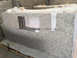 A pele do Tigre Branco/cinza China Cecilia bancada em granito prefabricadas