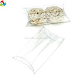 Contenitore di plastica libero trasparente a gettare di cuscino del regalo della caramella di cerimonia nuziale