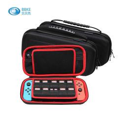 Interruptor de Nintendo 2 Estuche protector Hard Shell Bolsa de viaje portátil ranuras para tarjetas de juego y bolsillo interior para Nintendo