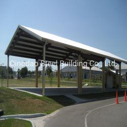 مصنع بناء المعادن المصممة مسبقا تصميم السيارات Modular Design Garage Steel بنية التخزين