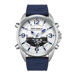 Montre-bracelet montres de marque avec montre à quartz pour regarder en arrière en acier inoxydable de gros hommes Watch Watch montre numérique nouvelle instruction Watch Fashion Montres Montres de marque