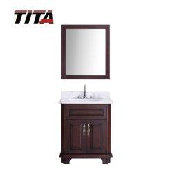 純木の骨董品様式の浴室の虚栄心T9314-24/30A