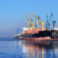 De overzeese Verschepende Dienst van de Invoer van British/UK aan Shanghai China