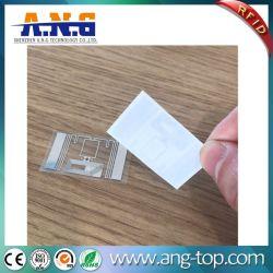 Het kleine Inlegsel RFID van de Sticker van de Frequentie RFID van de Grootte Dubbele 13.56MHz + 900-960MHz RFID van het Etiket Hf+UHF