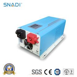 3000W 12V/24V/48V DC à AC 110V/220V onde sinusoïdale pure de convertisseur de puissance solaire