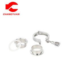 Morsetto delle componenti dell'acciaio inossidabile 304/316L 3PCS/puntale sanitario/del sindacato anello sigillante