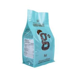 Custom Aluminium Ziolock Sac à fond plat en plastique l'emballage alimentaire