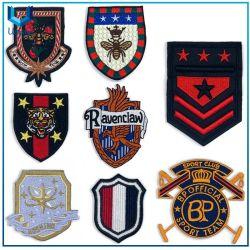의복 자수 패치, 가득 차있는 자수 군 기장, 주문 군 해군 Epaulette 해군장교의 견장, 경찰 획일한 자수 로고